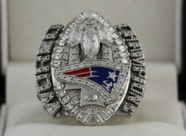 2004 New England Patriots NFL Super Bowl Championship Rings Ring