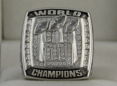 2007 New York Giants NFL Super Bowl Championship Rings Ring