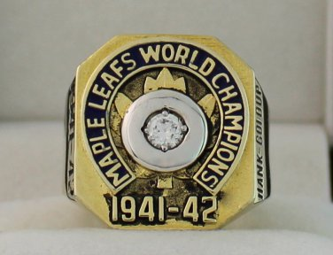 1942 Toronto Maple Leafs Stanley Cup Championship Rings Ring