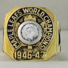 1947 Toronto Maple Leafs Stanley Cup Championship Rings Ring