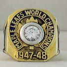 1948 Toronto Maple Leafs Stanley Cup Championship Rings Ring