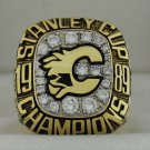 1989 Calgary Flames Stanley Cup Championship Rings Ring