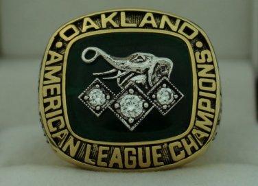 1990 Oakland Athletics AL American League World Series Championship Rings Ring