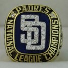 1998 San Diego Padres NL National League World Series Championship Rings Ring