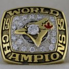 1992 Toronto Blue Jays World Series Championship Rings Ring