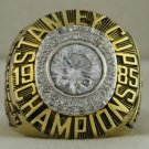 1985 Edmonton Oilers Stanley Cup Championship Rings Ring