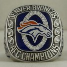 2013 Denver Broncos AFC American Football Conference Championship Rings Ring