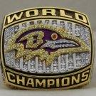 2000 Baltimore Ravens NFL Super Bowl Championship Rings  Ring