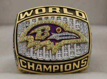 2000 Baltimore Ravens NFL Super Bowl Championship Rings  Ring