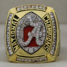 2011 Alabama Crimson Tide NCAA National Championship Rings Ring