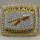2013 Florida State Seminoles FSU NCAA ACC National Championship Rings Ring