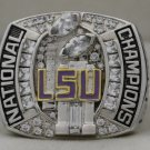 2007 LSU Tigers NCAA BCS National Championship Rings Ring