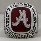 1999 Alabama Crimson Tide NCAA SEC National Championship Rings Ring