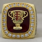 2000 Florida State Seminoles NCAA Sugar Bowl Championship Rings Ring