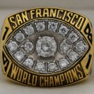 1981 San Francisco 49ers NFL Super Bowl Championship Rings  Ring