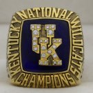 1998 Kentucky Wildcats NCAA Basketball National Championship Rings Ringg