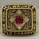 1957 Milwaukee Braves World Series Championship Rings Ring