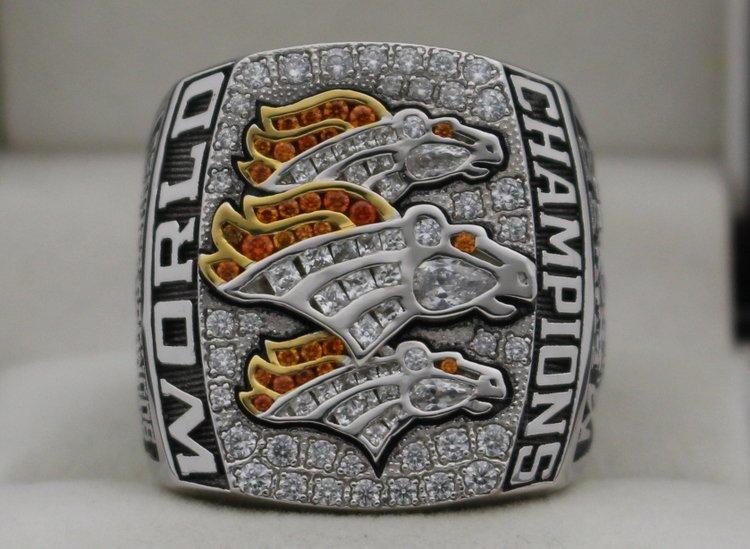 2015 Denver Broncos Nfl Super Bowl Championship Rings Fan Ring