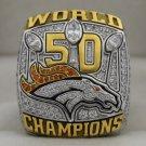 2015 Denver Broncos Super Bowl Championship Rings Ring