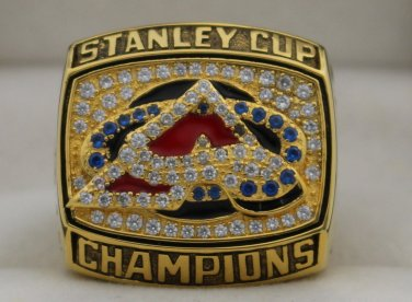 2001 Colorado Avalanche Stanley Cup Championship Rings Ring