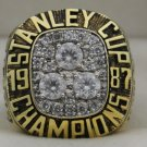 1987 Edmonton Oilers Stanley Cup Championship Rings Ring