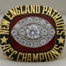 1985 New England Patriots AFC American Football Conference Championship Rings Ring