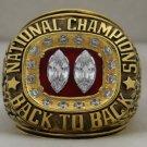 1995 Nebraska Cornhuskers NCAA National Championship Rings Ring