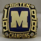 1998 Michigan Wolverines NCAA Big Ten National Championship Rings Ring