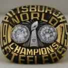 1975 Pittsburgh Steelers NFL Super Bowl Championship Rings Ring