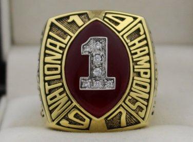 1997 Nebraska Cornhuskers NCAA National Championship Rings Ring