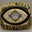 1976 Minnesota Vikings NFC National Football Conference Championship Rings Ring