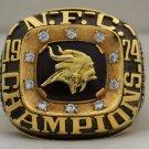 1974 Minnesota Vikings NFC National Football Conference Championship Rings Ring