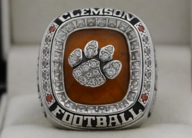 2015 Clemson Tigers NCAA Orange Bowl National Championship Rings Ring
