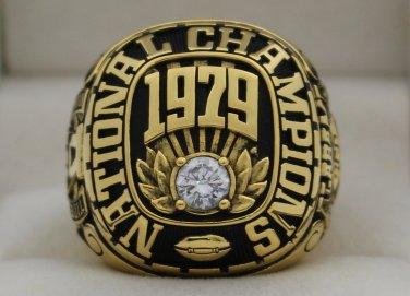 1979 Alabama Crimson Tide National Championship Rings Ring