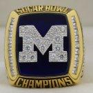2012 Michigan Wolverines NCAA Sugar Bowl National Championship Rings Ring