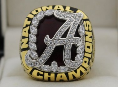 2009 Alabama Crimson Tide NCAA National Championship Rings Ring