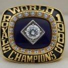 1985 Kansas City Royals World Series Championship Rings Ring