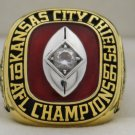 1966 Kansas City Chiefs AFL Championship Rings Ring
