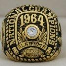 1964 Alabama Crimson Tide National Championship Rings Ring
