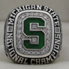2007 Michigan State Spartans Ice Hockey National Championship Rings Ring