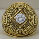 1958 New York Yankees World Series Championship Rings Ring