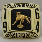 1964 BC Lions The 52nd Grey Cup Championship Rings Ring