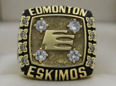 1981 Edmonton Eskimos The 69th Grey Cup Championship Rings Ring