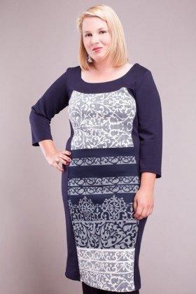 Ladies Plus Size Paneled Dress  SIZE UK 18