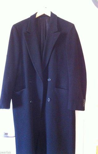Vintage Christian Dior Monsieur Full Length Virgin Wool Double Breasted Coat