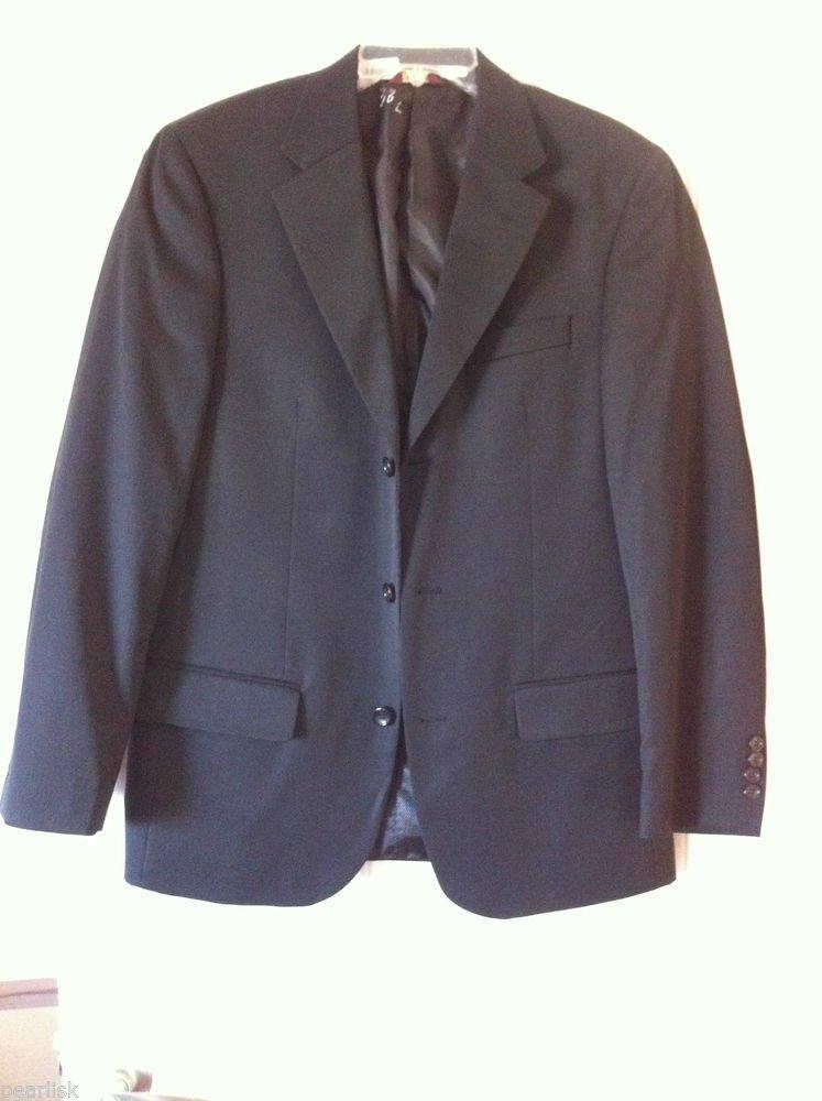 Cianni Cellini Men's Suitable Separates Three Button Blazer Super 110s Wool