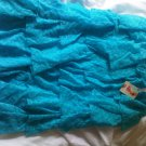Victoria's Secret Beach Sexy Turquoise Lace Tiered Ruffle Dress Cover M
