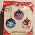 Darice Christmas Ornaments Foamies Activity Bucket New