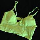 Victoria's Secret Beach Sexy Long Line Strappy Triangle Bikini Top Padded S
