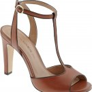 Banana Republic T-Strap High Heel Sandal Tawny brown/bark 10 $120